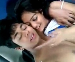 sexy desi Indian teen exposed thither buggy