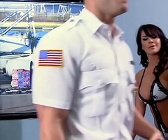 Brazzers - Baby Got Bowels -  Airport Secur-Titty scene starring Savannah Stern and Johnny Sins