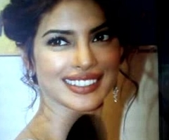 Cum Short Tribute Around Prianka Chopra'_s face