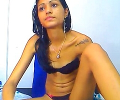 Indian legal age teenager wearing black brassiere and panty 3