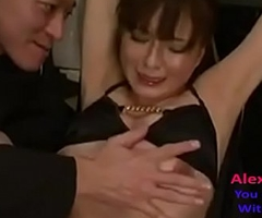 restrained pamper gets her pussy fingered