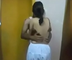 Indian legal age teenager muslim spread out fuck at the end of one's tether her friend