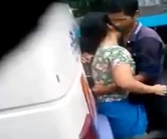 desi girl and boy sex in bus terminal Caught superior to before eavesdrop cam