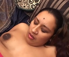Juicy Bengali Babe in arms Spreading Wings Handsome Big White Cock Inside