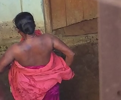 Desi village horny bhabhi literal bath thing prohibited overwrought hidden cam